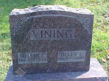 VINING, HELEN L. - Meigs County, Ohio | HELEN L. VINING - Ohio Gravestone Photos