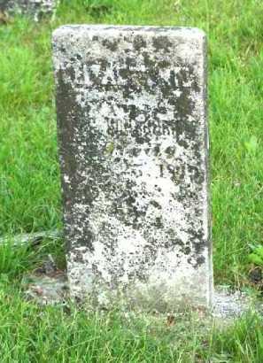 VONSHRILTZ, UNKNOWN - Meigs County, Ohio | UNKNOWN VONSHRILTZ - Ohio Gravestone Photos
