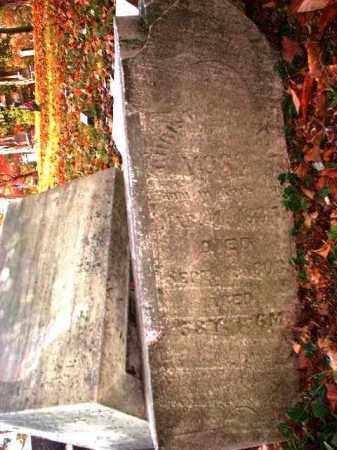 VOSS, CORA - Meigs County, Ohio | CORA VOSS - Ohio Gravestone Photos