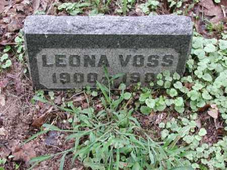 VOSS, LEONA - Meigs County, Ohio   LEONA VOSS - Ohio Gravestone Photos