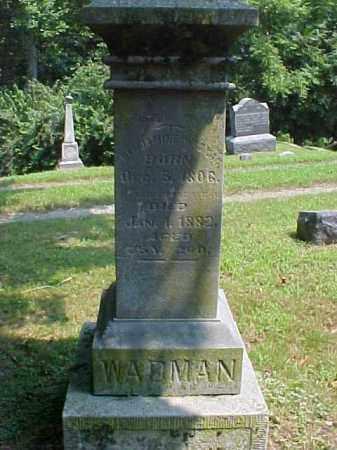 WADMAN, BENJAMINE - Meigs County, Ohio | BENJAMINE WADMAN - Ohio Gravestone Photos