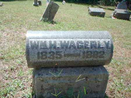 WAGERLY, WILLIAM H. - Meigs County, Ohio   WILLIAM H. WAGERLY - Ohio Gravestone Photos