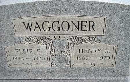 WAGGONER, ELSIE E - Meigs County, Ohio | ELSIE E WAGGONER - Ohio Gravestone Photos