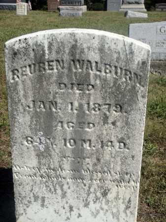 WALBURN, REUBEN - Meigs County, Ohio   REUBEN WALBURN - Ohio Gravestone Photos