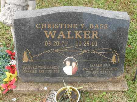 WALKER, CHRISTINE Y. - Meigs County, Ohio | CHRISTINE Y. WALKER - Ohio Gravestone Photos