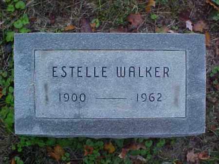 WALKER, ESTELLE - Meigs County, Ohio | ESTELLE WALKER - Ohio Gravestone Photos