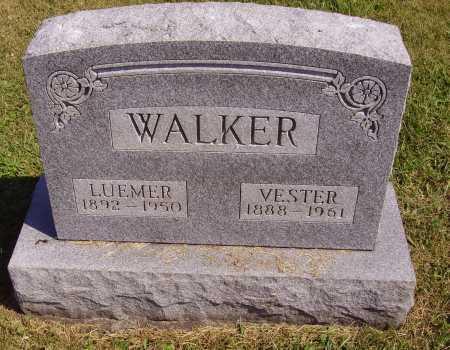 WALKER, LUEMER WINDLER - Meigs County, Ohio | LUEMER WINDLER WALKER - Ohio Gravestone Photos