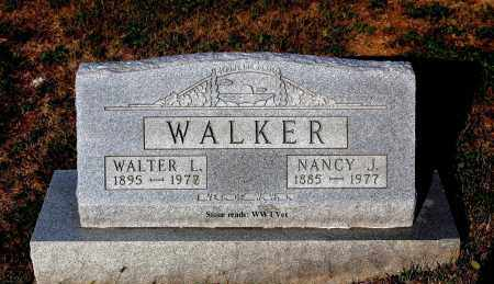 WALKER, WALTER L. - Meigs County, Ohio | WALTER L. WALKER - Ohio Gravestone Photos