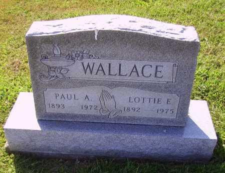 WALLACE, PAUL A. - Meigs County, Ohio | PAUL A. WALLACE - Ohio Gravestone Photos