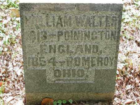 WALTER, WILLIAM - Meigs County, Ohio | WILLIAM WALTER - Ohio Gravestone Photos