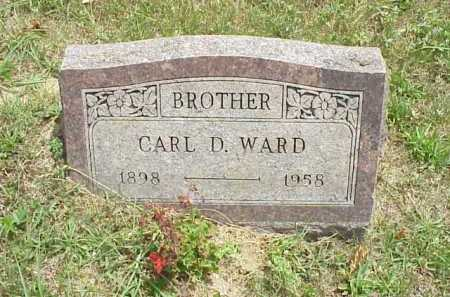 WARD, CARL D. - Meigs County, Ohio   CARL D. WARD - Ohio Gravestone Photos