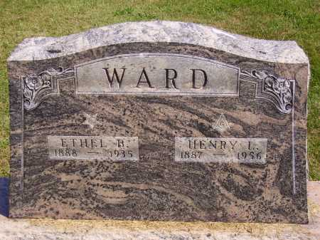 WARD, HENRY L. - Meigs County, Ohio | HENRY L. WARD - Ohio Gravestone Photos