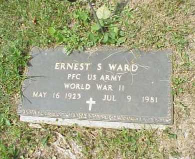 WARD, ERNEST S. - Meigs County, Ohio   ERNEST S. WARD - Ohio Gravestone Photos