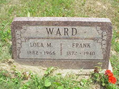 WARD, FRANK - Meigs County, Ohio | FRANK WARD - Ohio Gravestone Photos