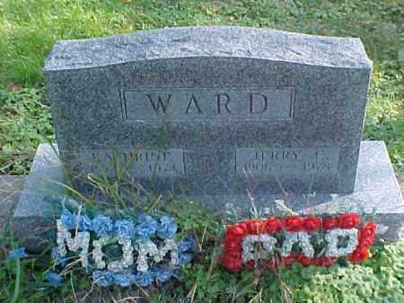 WARD, KATHARINE - Meigs County, Ohio   KATHARINE WARD - Ohio Gravestone Photos