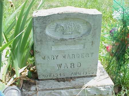 WARD, MARY MARGERT - Meigs County, Ohio | MARY MARGERT WARD - Ohio Gravestone Photos