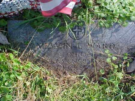 WARD, MELVIN L. - Meigs County, Ohio   MELVIN L. WARD - Ohio Gravestone Photos
