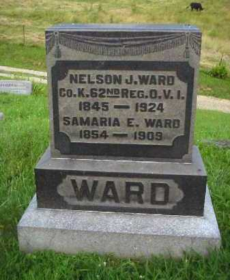 WARD, SAMARIA E. - Meigs County, Ohio | SAMARIA E. WARD - Ohio Gravestone Photos