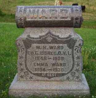 WARD, EMMA - Meigs County, Ohio   EMMA WARD - Ohio Gravestone Photos