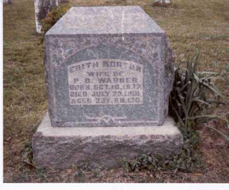 WARNER, EDITH - Meigs County, Ohio   EDITH WARNER - Ohio Gravestone Photos