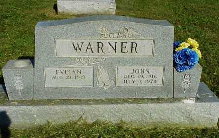 WARNER, EVELYN - Meigs County, Ohio | EVELYN WARNER - Ohio Gravestone Photos