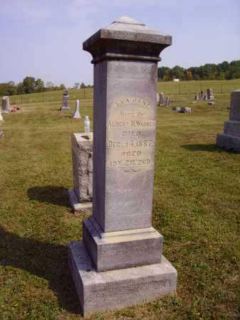 WARNER, EVA JANE - Meigs County, Ohio   EVA JANE WARNER - Ohio Gravestone Photos