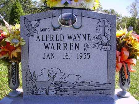 WARREN, ALFRED WAYNE - Meigs County, Ohio   ALFRED WAYNE WARREN - Ohio Gravestone Photos