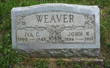 WEAVER, JOHN W. - Meigs County, Ohio | JOHN W. WEAVER - Ohio Gravestone Photos
