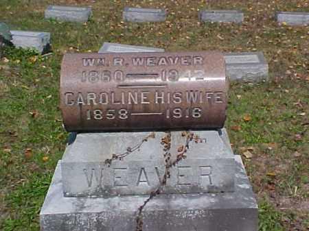 WANDELL WEAVER, CAROLINE - Meigs County, Ohio | CAROLINE WANDELL WEAVER - Ohio Gravestone Photos