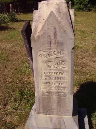 WEBB, ABNER - OVERALL #2 - Meigs County, Ohio | ABNER - OVERALL #2 WEBB - Ohio Gravestone Photos