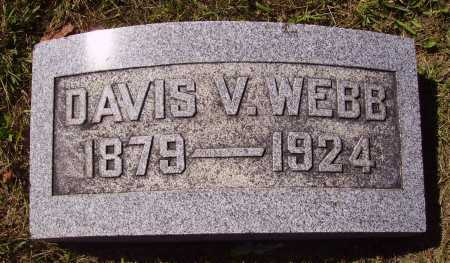 WEBB, DAVIS V. - Meigs County, Ohio | DAVIS V. WEBB - Ohio Gravestone Photos