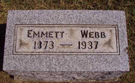 WEBB, EMMETT - Meigs County, Ohio   EMMETT WEBB - Ohio Gravestone Photos