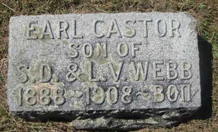 WEBB, EARL CASTOR - Meigs County, Ohio | EARL CASTOR WEBB - Ohio Gravestone Photos