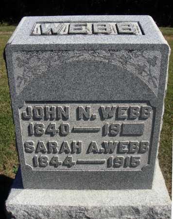 WEBB, SARAH A. - Meigs County, Ohio | SARAH A. WEBB - Ohio Gravestone Photos