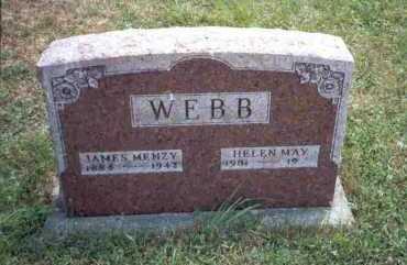 WEBB, HELEN MAY - Meigs County, Ohio   HELEN MAY WEBB - Ohio Gravestone Photos