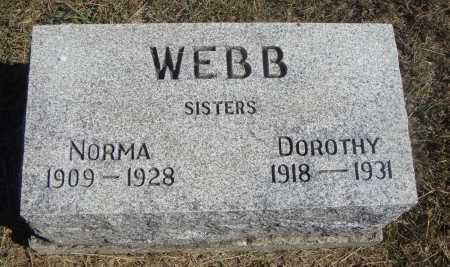 WEBB, DOROTHY - Meigs County, Ohio | DOROTHY WEBB - Ohio Gravestone Photos