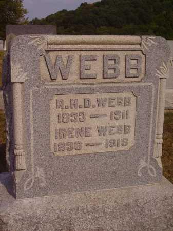 FOGG WEBB, IRENE - Meigs County, Ohio | IRENE FOGG WEBB - Ohio Gravestone Photos