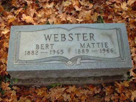WEBSTER, MATTIE - Meigs County, Ohio   MATTIE WEBSTER - Ohio Gravestone Photos