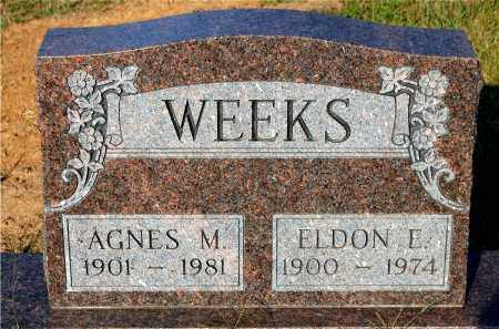WEEKS, AGNES M. - Meigs County, Ohio | AGNES M. WEEKS - Ohio Gravestone Photos