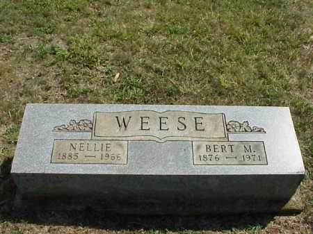 WEESE, BERT M. - Meigs County, Ohio | BERT M. WEESE - Ohio Gravestone Photos
