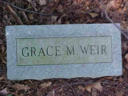 WEIR, GRACE M. - Meigs County, Ohio   GRACE M. WEIR - Ohio Gravestone Photos
