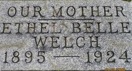 WELCH, ETHEL - Meigs County, Ohio | ETHEL WELCH - Ohio Gravestone Photos