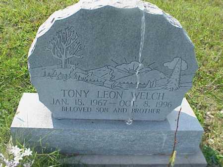WELCH, TONY LEON - Meigs County, Ohio   TONY LEON WELCH - Ohio Gravestone Photos