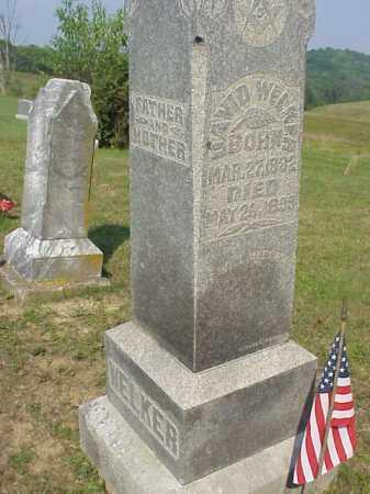 WELKER, DAVID - Meigs County, Ohio | DAVID WELKER - Ohio Gravestone Photos
