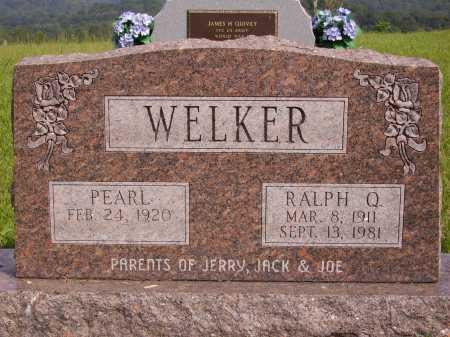 WELKER, RALPH Q. - Meigs County, Ohio | RALPH Q. WELKER - Ohio Gravestone Photos