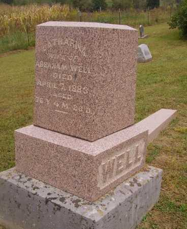 WELL, CATHARNA - OVERALL MONUMENT - Meigs County, Ohio | CATHARNA - OVERALL MONUMENT WELL - Ohio Gravestone Photos