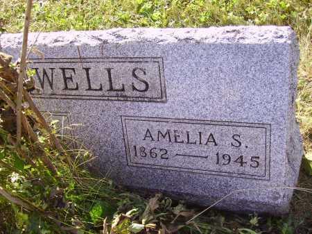 WELLS, AMELIA S. - Meigs County, Ohio | AMELIA S. WELLS - Ohio Gravestone Photos