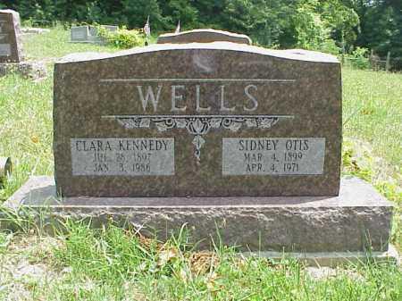 WELLS, CLARA - Meigs County, Ohio | CLARA WELLS - Ohio Gravestone Photos