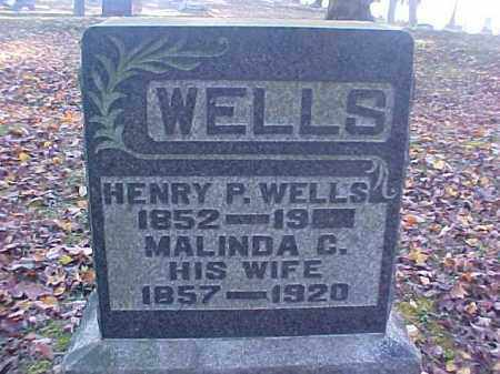 WELLS, MALINDA C. - Meigs County, Ohio | MALINDA C. WELLS - Ohio Gravestone Photos