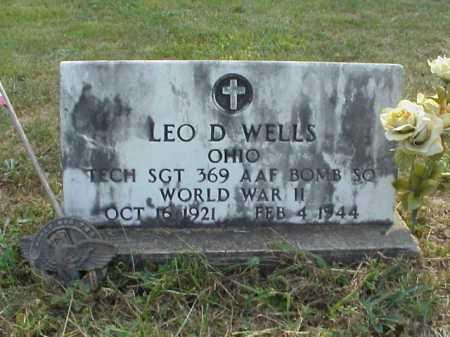 WELLS, LEO D. - Meigs County, Ohio   LEO D. WELLS - Ohio Gravestone Photos